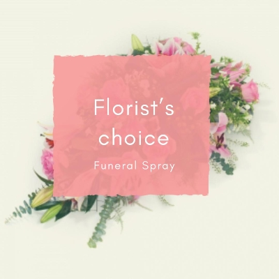Florist's Choice Funeral Spray