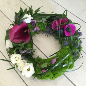 Contemporary Looped Wreath