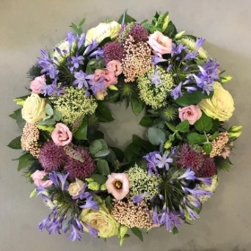 Contemporary Garden Wreath