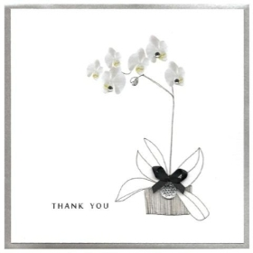 Thank You Card (Orchid)