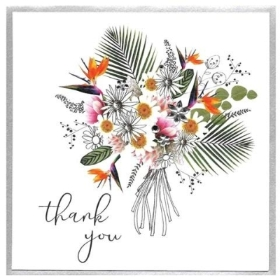 Thank You Card (Bouquet)