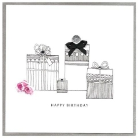 Happy Birthday, Presents Card