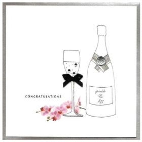 Congratulations Prosecco Card