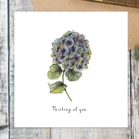 Thinking of You Card (Hydrangea)