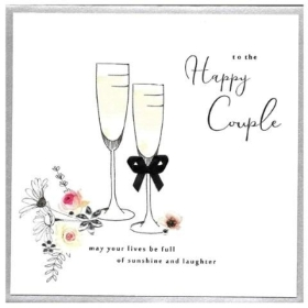 Wedding Card to the happy couple