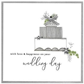 Wedding Day Card   love and happiness