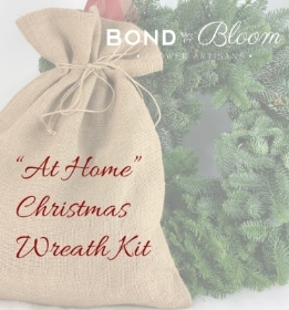 'At Home' Christmas Wreath Kit
