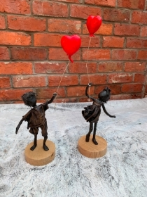 Heart Balloon Sculptures