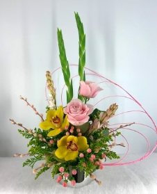 Spring Orchid Arrangement